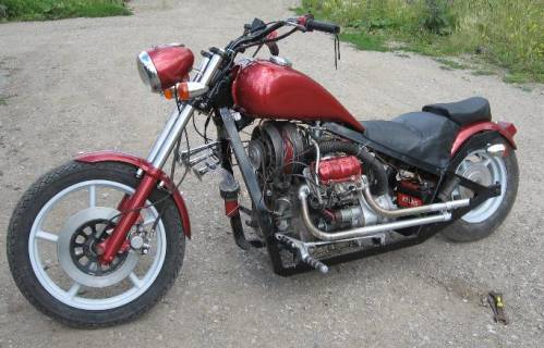 Мотоцикл своими руками с двигателем от заз
